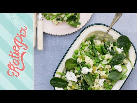 Testing Out a Microwave Risotto Recipe | Katie Pix
