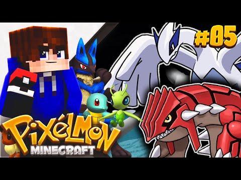 CATCHING 2 LEGENDARIES?! | Minecraft Cube PIXELMON! #5 (Minecraft Pokemon)