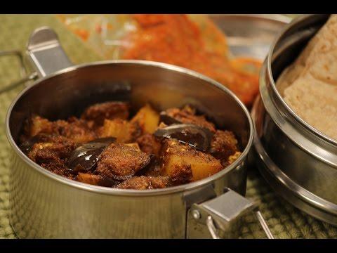 Baingan Aloo Sukhi Sabzi | Tiffin Treats by Roopa Nabar | Sanjeev Kapoor Khazana