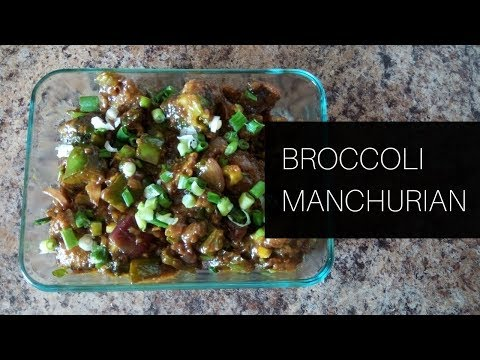 Broccoli Manchurian || Healthy Broccoli Recipe ||