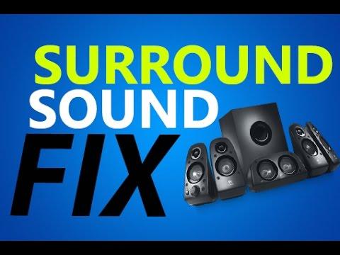 Windows 10 - Surround Sound & No Voice Fix for Games 5.1/7.1 DTS