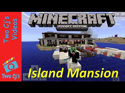 Awesome Minecraft PE World Tour - Island Mansion [31]