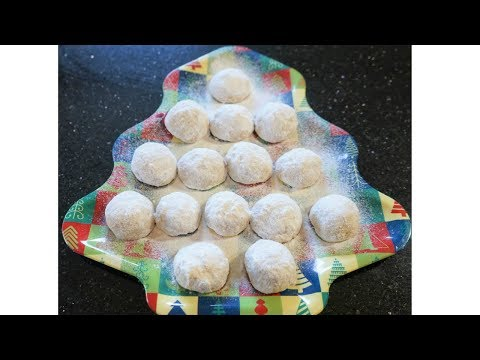 SNOWBALL COOKIES | SUPER EASY AND FAST | PERFECT FOR THE HOLIDAYS