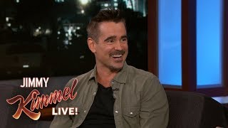 Colin Farrell Reveals Best Burger