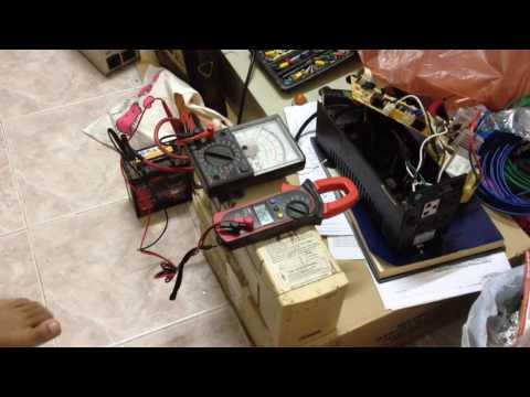 โมยูพีเอสUPSเก่าเป็นเครื่องแปลงไฟinverter(แบตต่ำก็ยังทำงาน)-By ช่างขอน