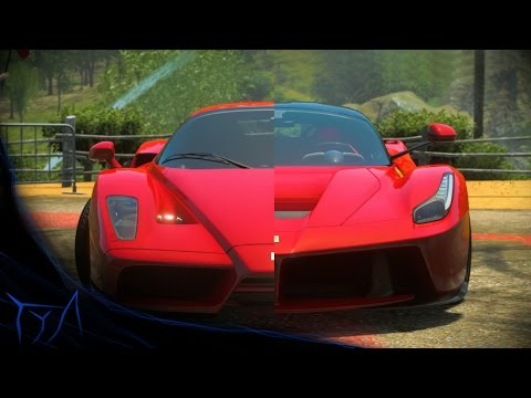DRIVECLUB - Enzo Ferrari & LaFerrari Ferrari in Action