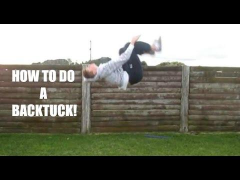 How To Do A Standing Backflip On Ground! (Tutorial) - Jamie O'Hagan