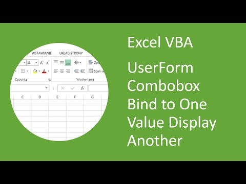 Excel VBA UserForm Combobox Bind to One Value but Display Another