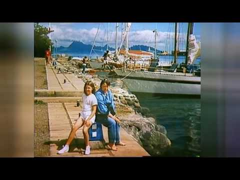 VOYAGE A TAHITI 1987 - Moorea et Bora-Bora