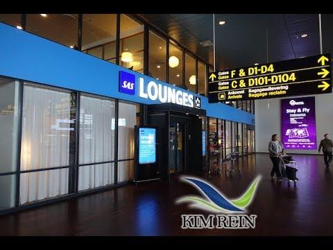 SAS Lounge Kastrup Copenhagen Denmark