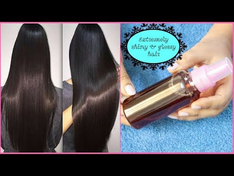 Get Glossy, Shiny & Silky Hair Naturally | Only Two Ingredients Makes My Hair Super Shiny Instantly