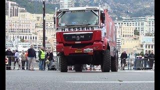 Rallye raid Montercarlo Dakar Africa eco race 2018 Camions