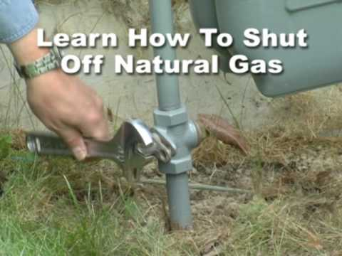 Turning Off Natural Gas