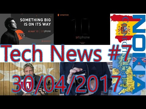 [हिंदी]Tech News #7- Tendulkar's Phone, Hack proof Phone, Nokia Android Launch & Price.....