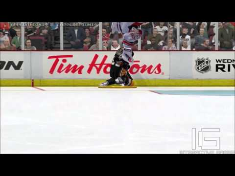 Goalie Gets Destroyed in NHL 14