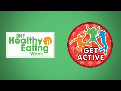 BNF Healthy Eating Week: Get active