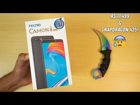 Tecno Camon i Twin Unboxing & Initial Impressions!