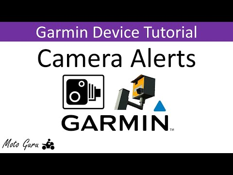 Garmin Speed and Safety Camera Alerts Demonstration