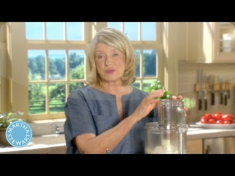 How to Make Pasta Dough with a Food Processor - Martha Stewart's Cooking School