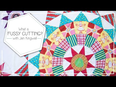What is Fussy Cutting and How to Fussy Cut Quilting Fabrics by Jen Kingwell - Fat Quarter Shop