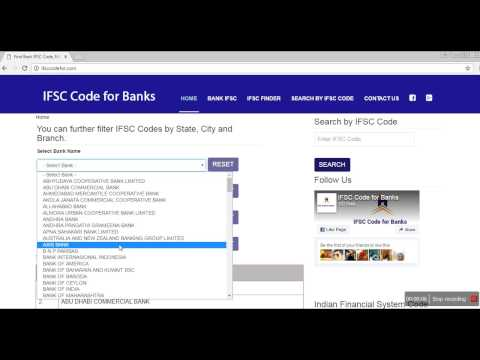 ifsc code for banks - http://ifsccodefor.com/