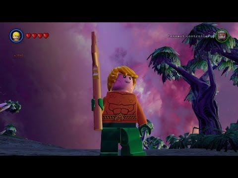LEGO Batman 3: Beyond Gotham - Aquaman Free Roam Gameplay [HD]