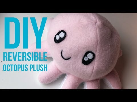 DIY Reverseble Octopus Plush