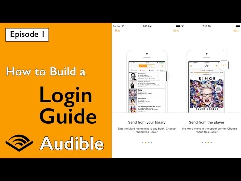 Swift: Audible - How to Build a Login Guide (Ep 1)
