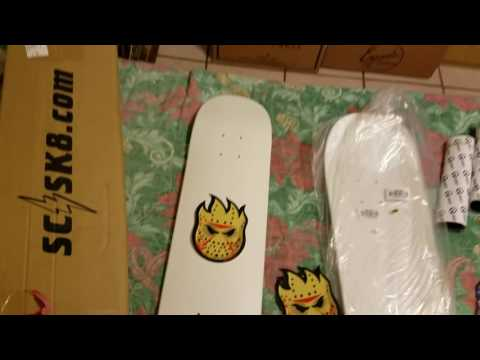 SkateVlog: Spitfire Stickers and How to get cheap Skateboards with free Grip tape