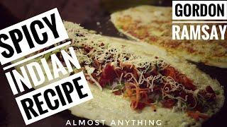 Gordon Ramsay Stunning Indian Street Food Recipes garm egg burger, Popcorn, Tostadas Almost Anything