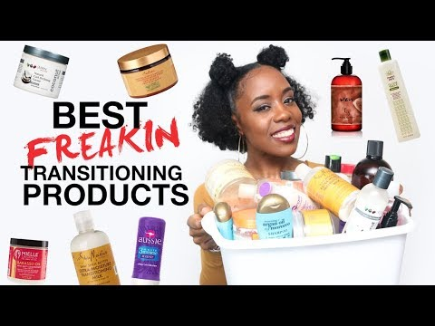 Favorite Transitioning Hair & Natural Hair Products for Faster Hair Growth
