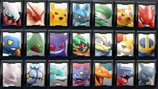 Pokkén Tournament DX - All Characters