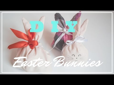 DIY - Easter Bunny | Easter Room Decor - Treat Bag - Bunny Toy | J.M.