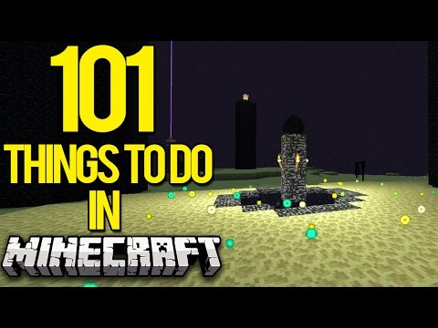 101 Extraordinary Things To Do In Minecraft