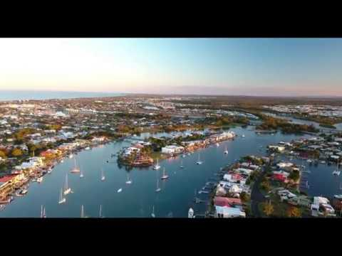Sunset and River Systems of Mooloolaba