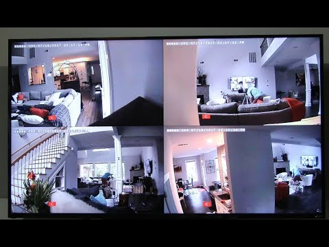 Lorex Eco LH050  Wireless Security 4 Camera System