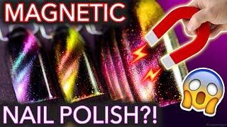 Magic MAGNETIC Nail Polish?!  (maybe don
