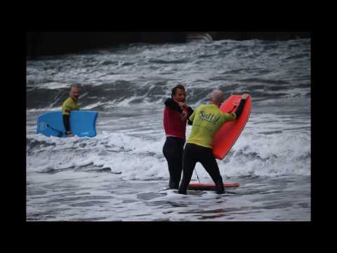 Bodyboard for beginners in Madeira Island