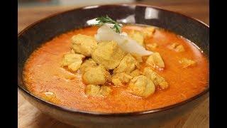 Goan Chicken Coconut Curry Goan Recipes Sanjeev Kapoor Khazana