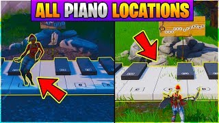 Fortnite Play The Sheet Music At The Piano Near Pleasant