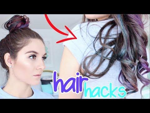 10 Hair HACKS You've NEVER Seen Before!!