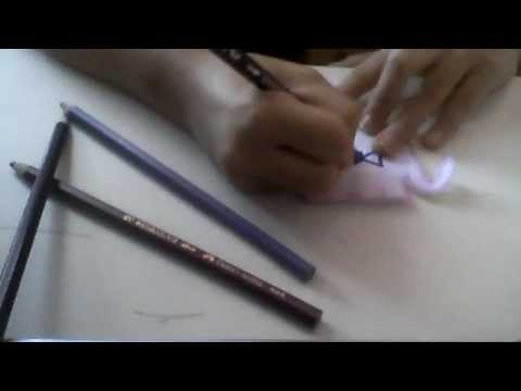 how to draw a candy
