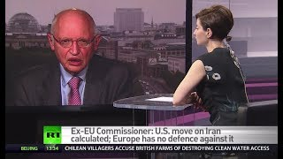 US holding EU hostage over Iran – ex-EU commissioner