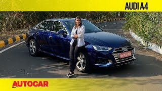 2021 Audi A4 facelift review - The strong and silent type | First Drive | Autocar India