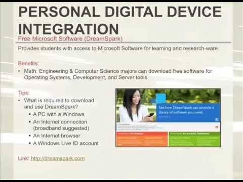 Section 7: PERSONAL DIGITAL DEVICE INTEGRATION