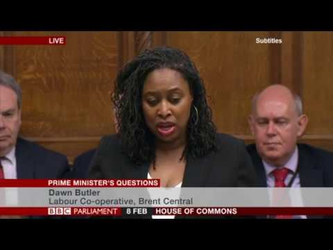 Dawn Butler MP asks the Prime Minister to meet to discuss Knife Crime