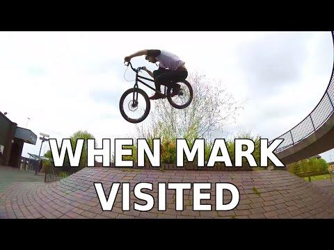 Ali Clarkson Vlog 4 - When Mark Visited