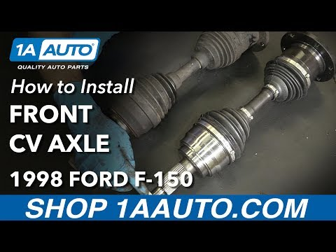How to Install Replace Front CV Axle 1997-03 Ford F-150