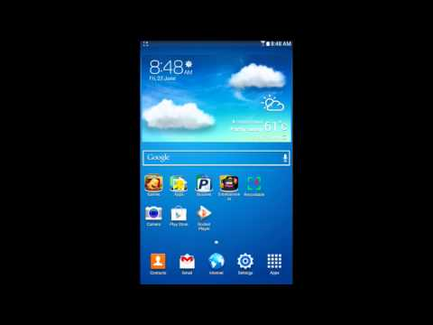 Turn on or off screen lock sounds samsung tab 3