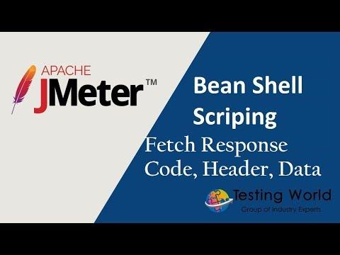 BeanShell Scripting : Fetch Response Code, Response Header, Response Body